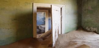 terk edilmiş mekan