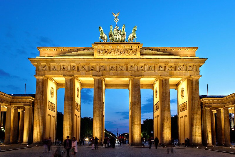 (Brandenburger Tor, Thomas Wolf, www.foto-tw.de)