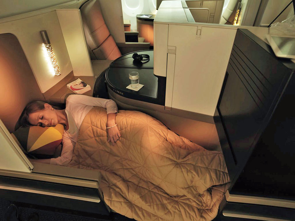 Etihad Airways Dreamliner
