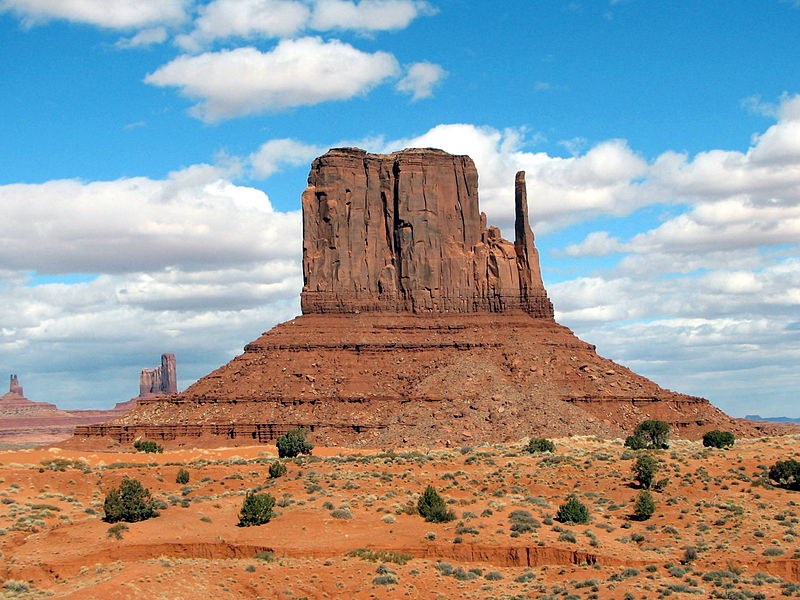 Monument Valley (Bernard Gagnon, CC BY-SA 3.0, Commons)