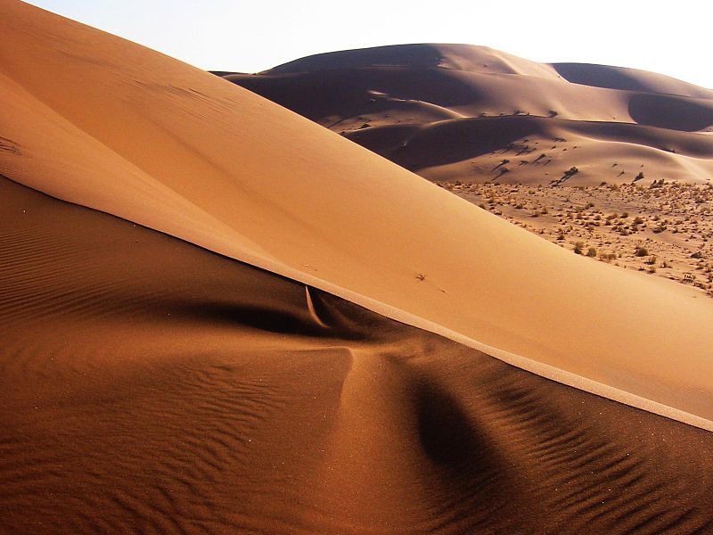 Namib Desert, Namibia (Thomas Schoch, http://www.retas.de/thomas/travel/namibia2003/index.html, CC BY-SA, Commons)