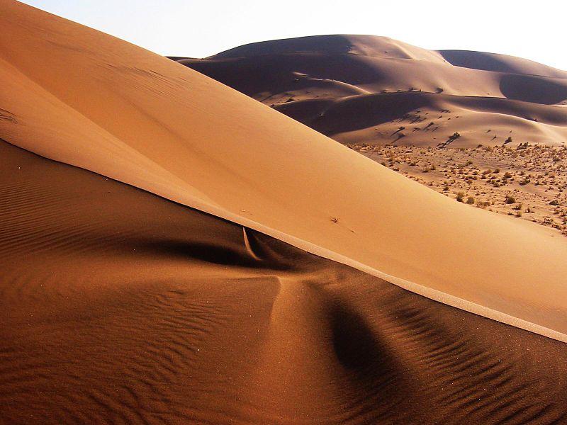 Namib Desert, Namibia (Thomas Schoch, http://www.retas.de/thomas/travel/namibia2003/index.html, CC BY-SA, Commons)
