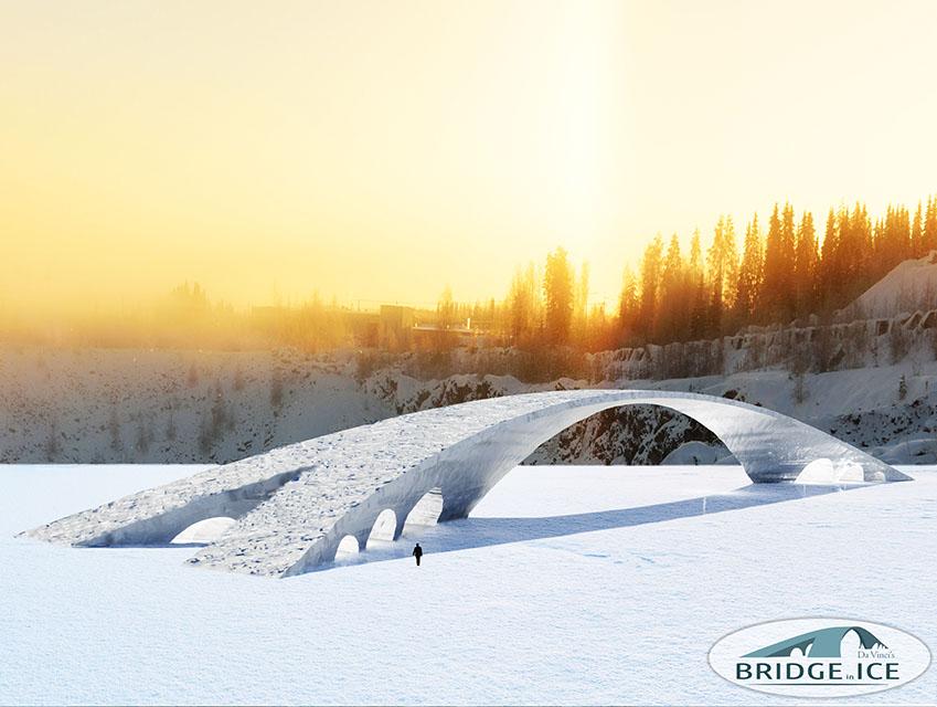 Finlandiya Buz Köprüsü (2)