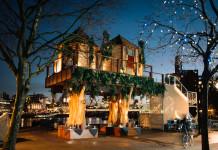 Londra'da ağaç ev