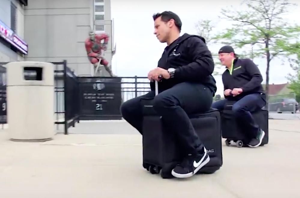 motorlu valiz modobag