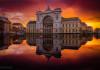 Budapeşte kızıl gökyüzü