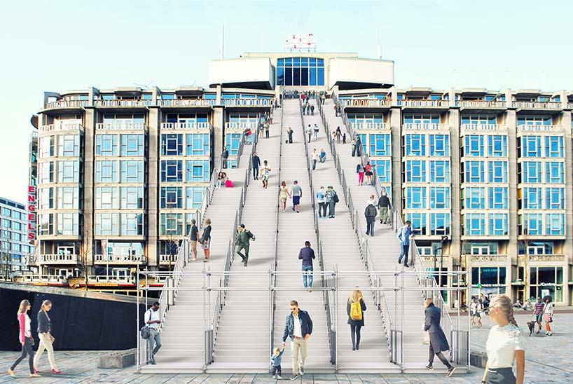 Rotterdam dev merdiven