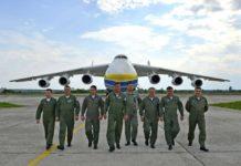 Dünyanın en büyük uçağı An-225 Mriya