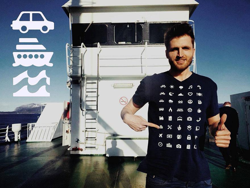 çevirmen tişört IconSpeak
