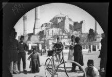 bisikletle dünya turu ayasofya