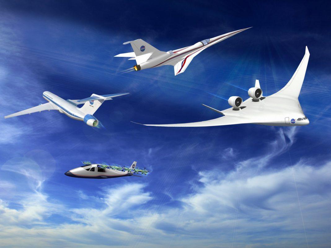 Nasa x-57 elektrikli uçak