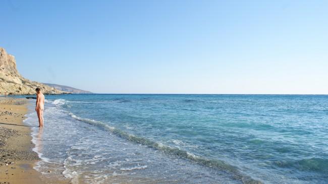 girit-yunanistan-kirmizi-plaj