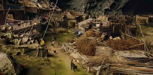Zhongdong mağara köy