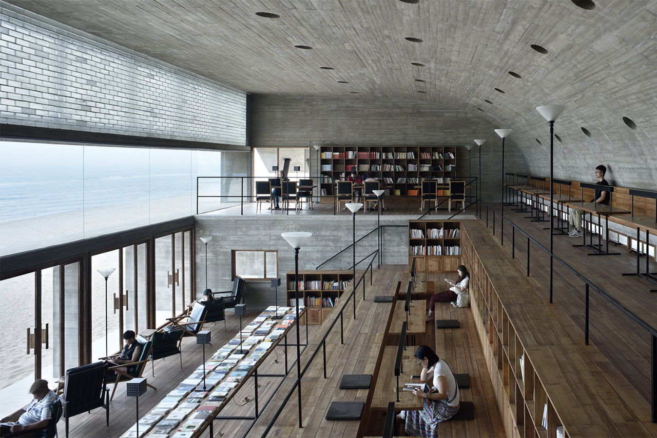 seashore library kütüphane