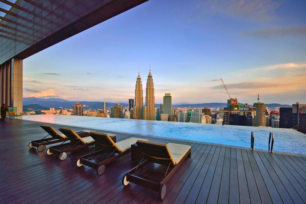 Kuala Lumpur Malezya havuz