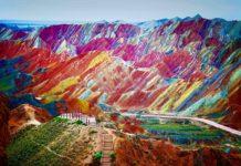 Gökkuşağı Dağları Çin