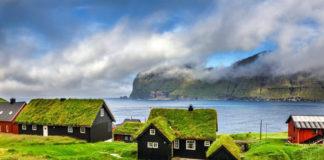 çim çatı iskandinavya
