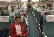 tren makinist yolcu