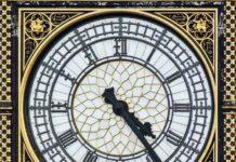 saat kulesi big ben saat kadranı