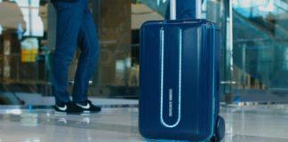 Travelmate robot valiz