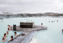 en huzurlu İzlanda kaplıcaları