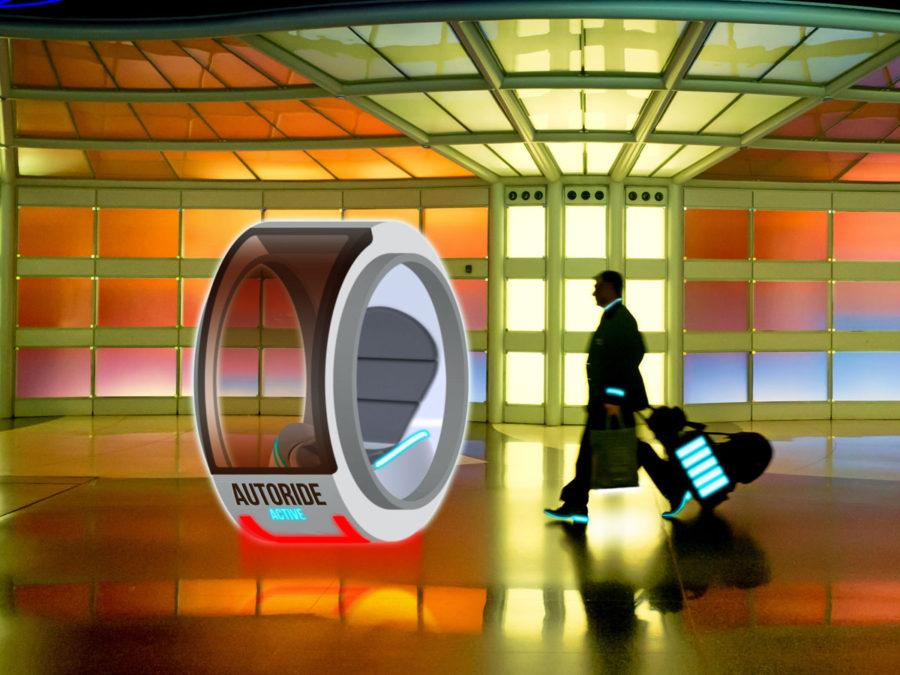 akıllı otel transfer sürücüsüz kapsül