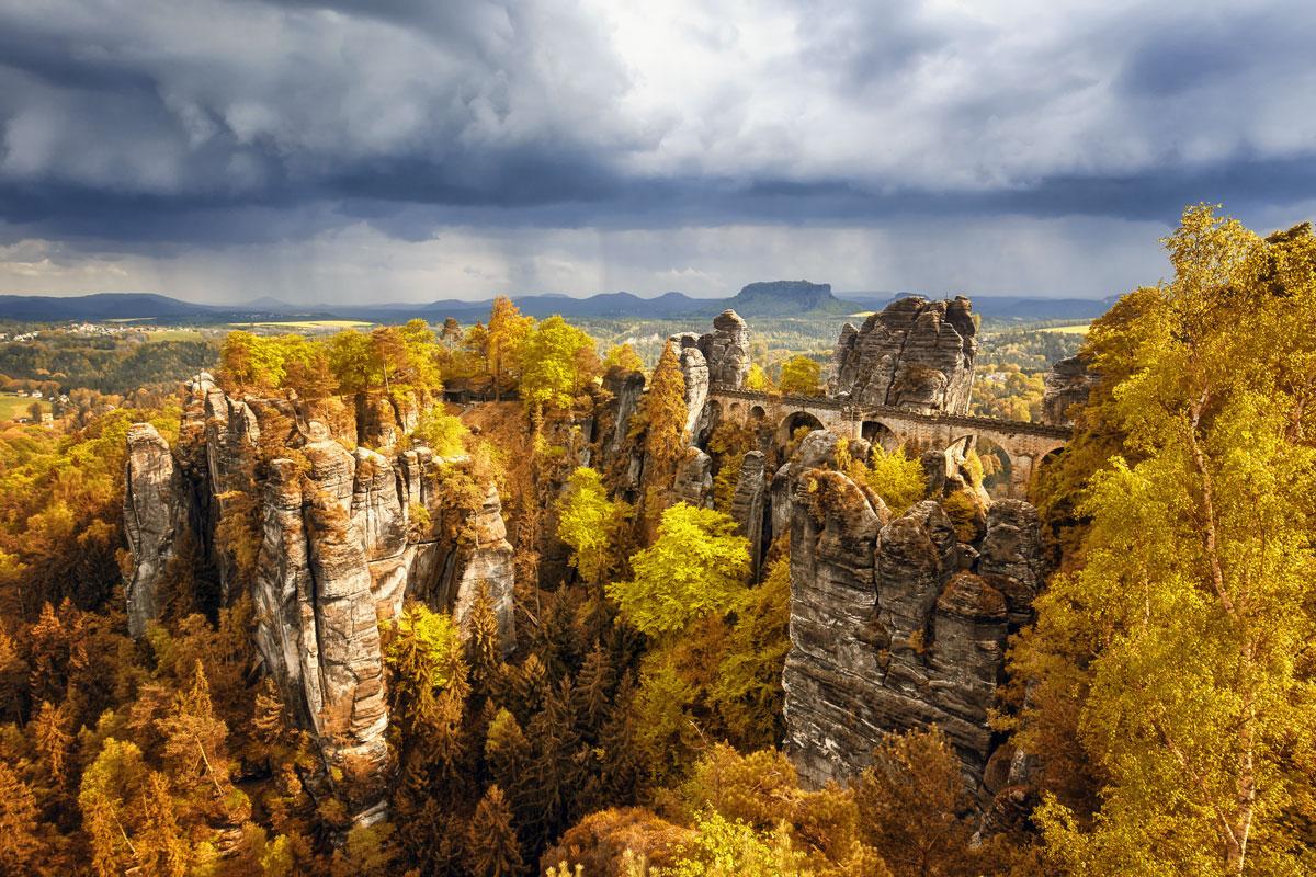 Bastei Köprüsü Almanya