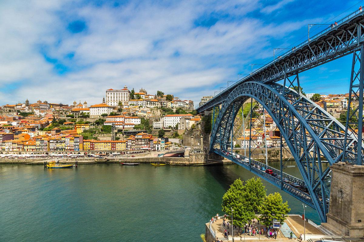 1inci Luis köprüsü Porto