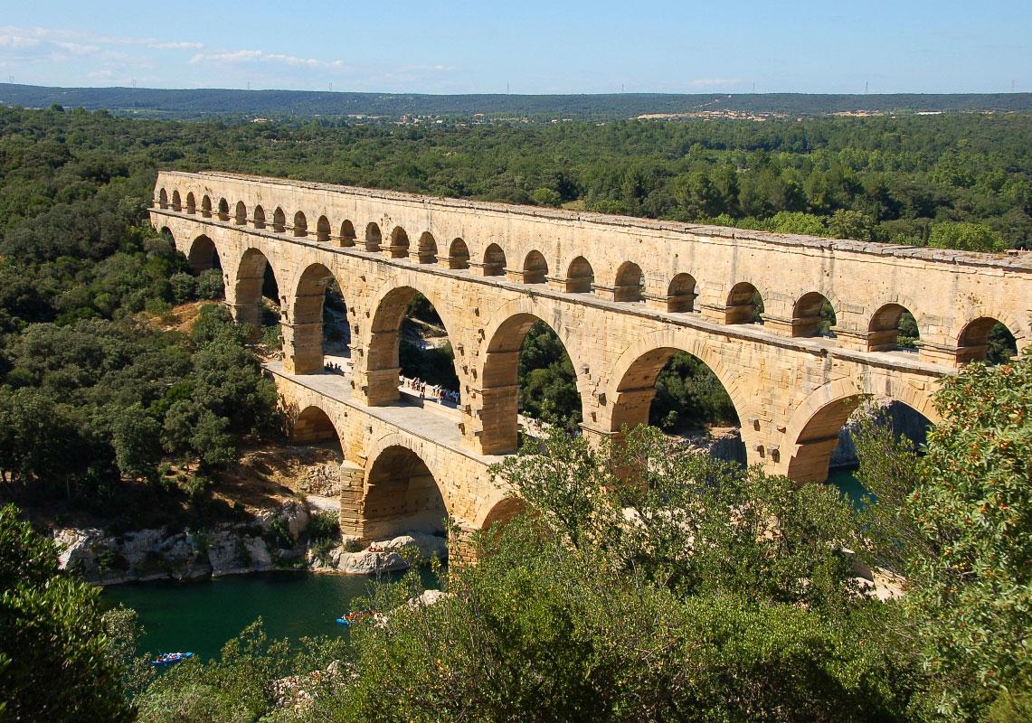 Pont du Gard su kemeri