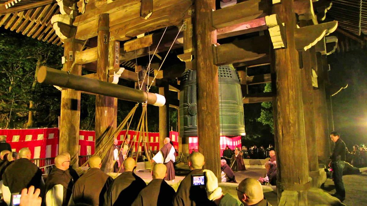 japonya budist çan çalma