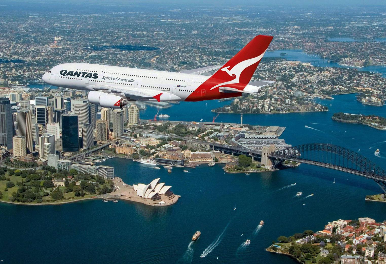 Qantas Avustralya uzun uçuş