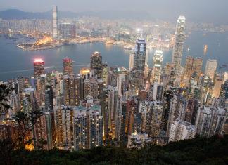 Hong Kong gökdelenler