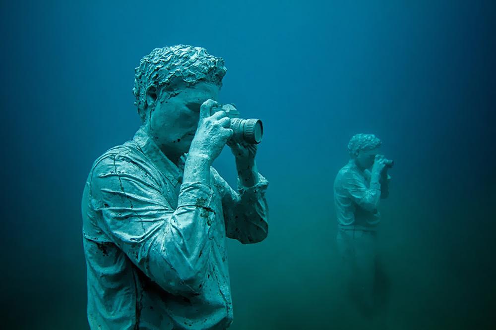 sualtı müzesi Museo Atlantico
