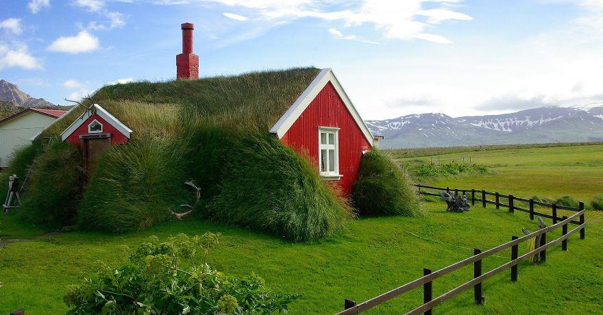 İzlanda ev tabiat