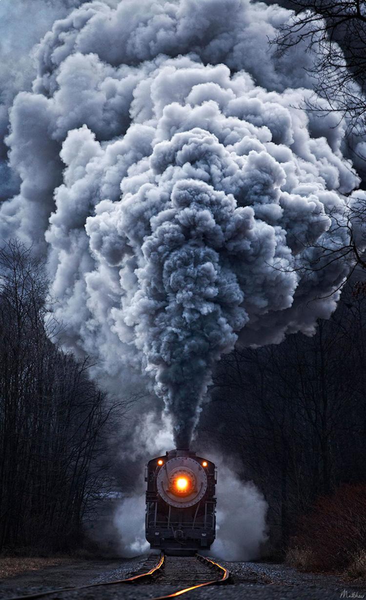 Trenlerin tabiatla kucaklaştığı 13 büyüleyici kare [Galeri]