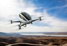 Ehang 184 drone taksi