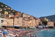 şehir plajı camogli kumsal yabancı turist yurt içi