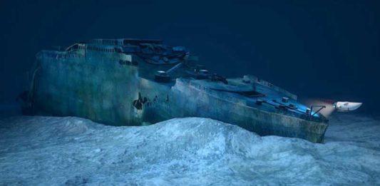 Titanic gemi enkazı
