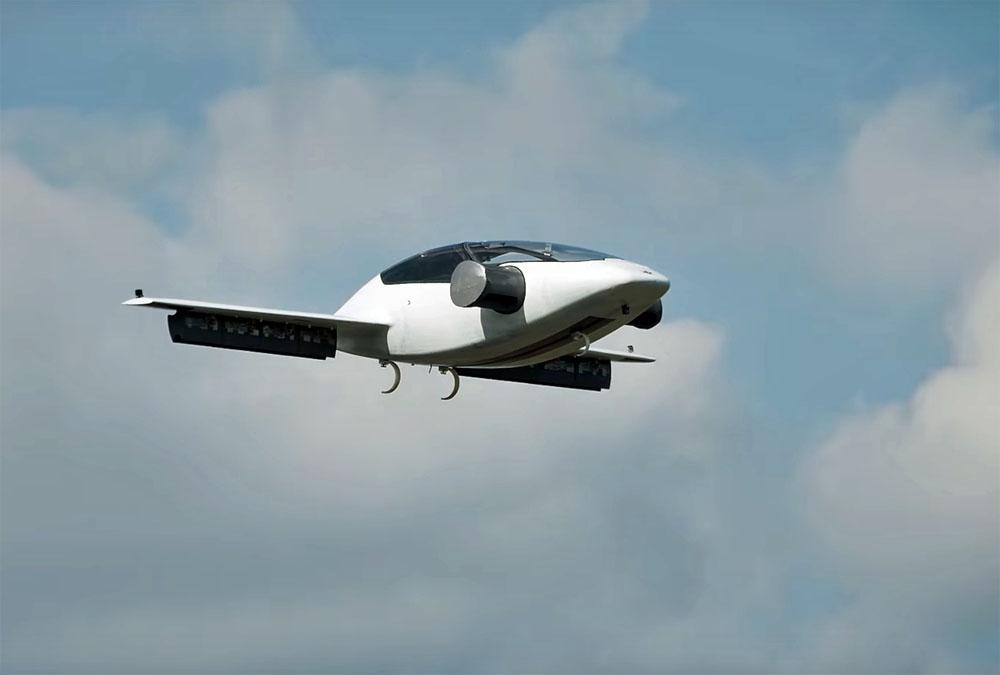 uçan otomobil lilium jet