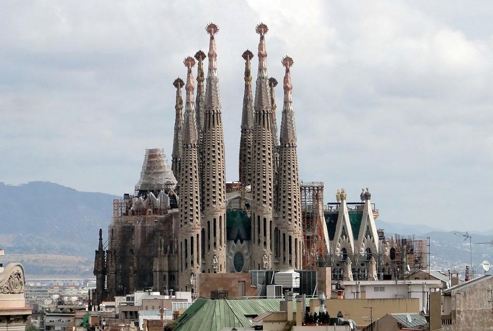 La Sagrada Familia en çok Instagramlanan
