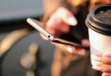 mobil dolaşım cep telefonu kahve