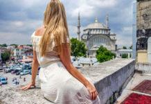 kadın gezginler türkiye istanbul