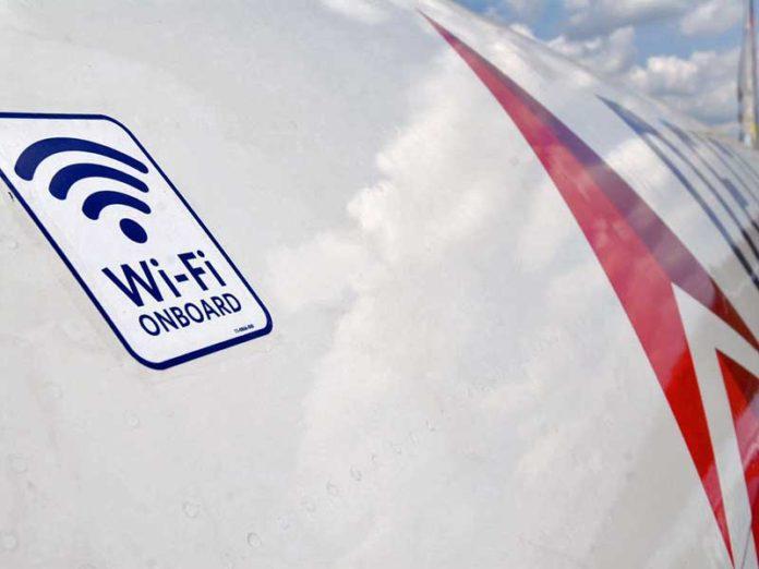 uçakta WiFi