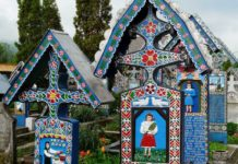 romanya şen mezarlık