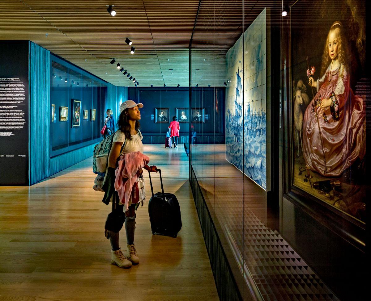 Rijksmuseum, paha biçilmez eserleri Amsterdam Schiphol yolcularının ayağına götürdü