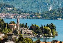 güzel göller Como gölü italya