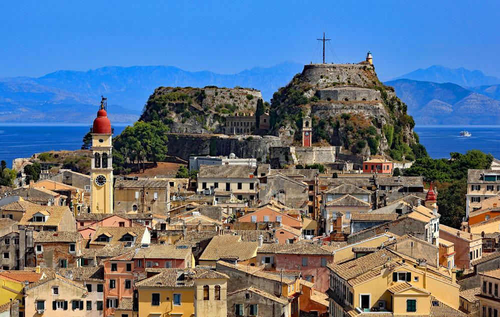 Korfu Yunanistan seyahat