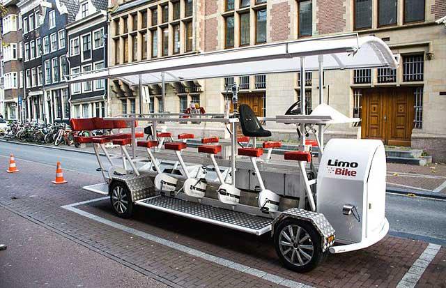 amsterdam bira bisikletleri