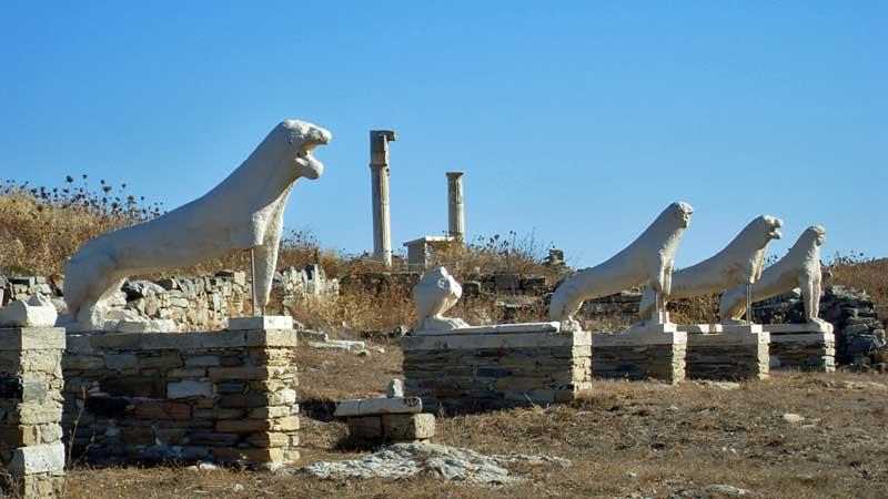 Delos Adası Yunanistan