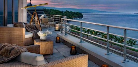 Hotel President Wilson en pahalı otel odası